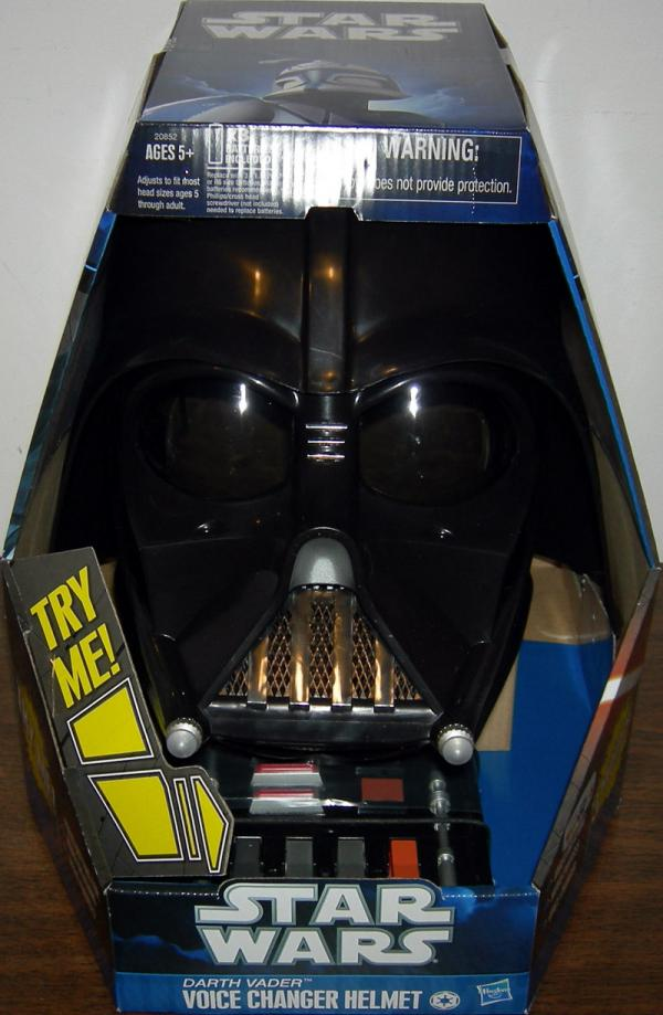 Darth Vader Voice Changer Helmet Clone Wars