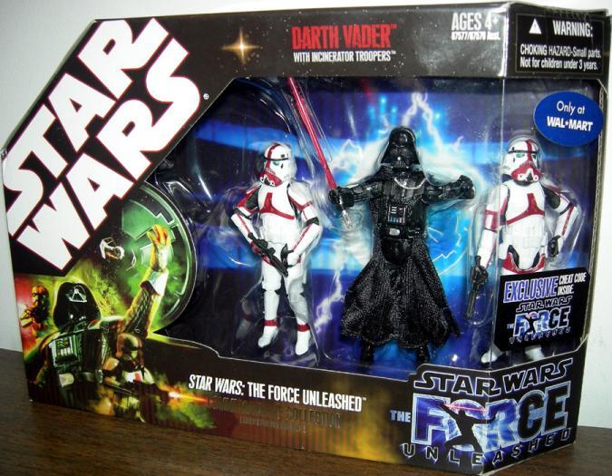 Star Wars- Force Unleashed Darth Vader Incinerator Troopers