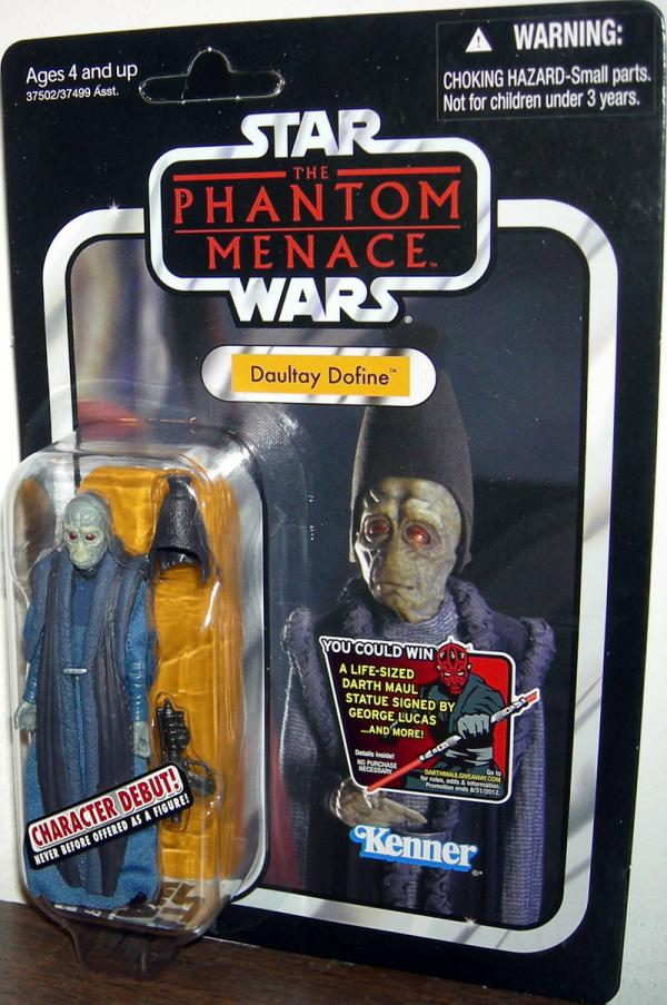Daultay Dofine VC82 Star Wars Phantom Menace action figure
