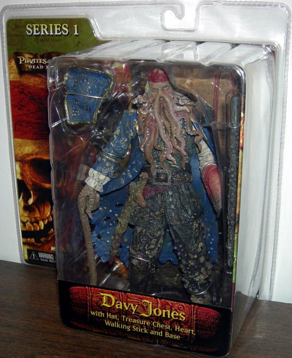 Davy Jones Pirates Caribbean Dead Mans Chest action figure
