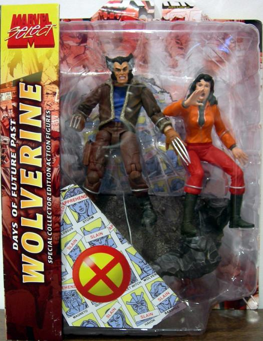 Days of Future Past Wolverine Marvel Select Action Figure
