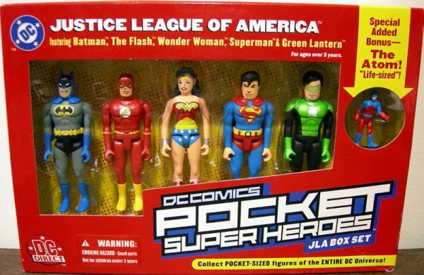 DC Comics Pocket Super Heroes JLA Box Set