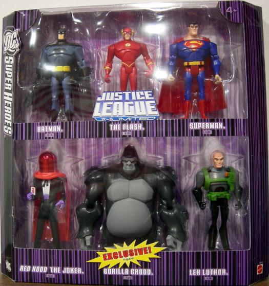 DC SuperHeroes Justice League Unlimited 6-Pack series 3