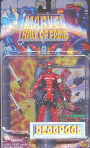 Deadpool Marvel Hall Fame