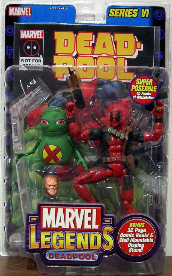 Deadpool Marvel Legends Action Figure Series VI Toy Biz