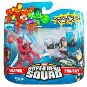 Deadpool Punisher Super Hero Squad