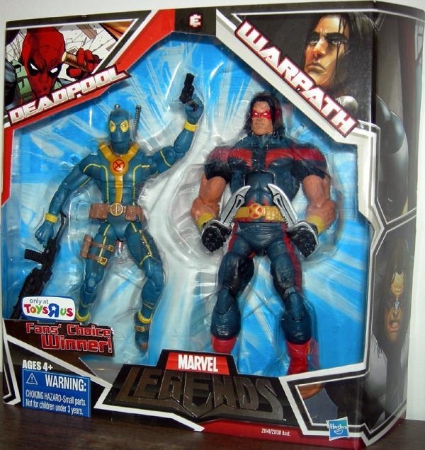 Deadpool Warpath variant Marvel Legends action figures