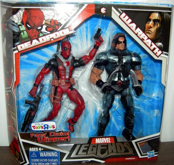 Deadpool Warpath Figures Marvel Legends TRU Hasbro