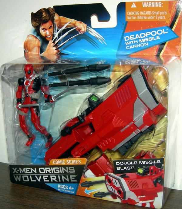 Deadpool Missile Cannon X-Men Origins action figure