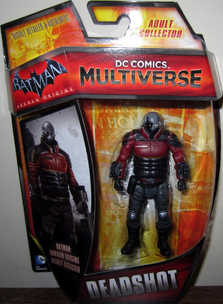 Deadshot Multiverse Action Figure DC Comics Batman Arkham Origins