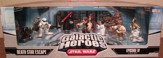 Death Star Escape Figures Galactic Heroes Star Wars
