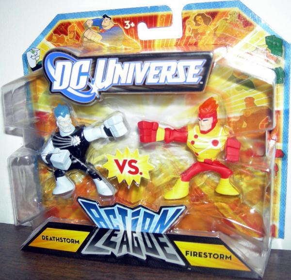 Deathstorm vs Firestorm Action League