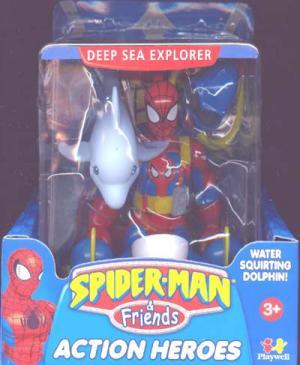 Deep Sea Explorer Spider-Man