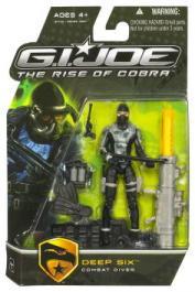 Deep Six - Combat Diver Rise Cobra action figure