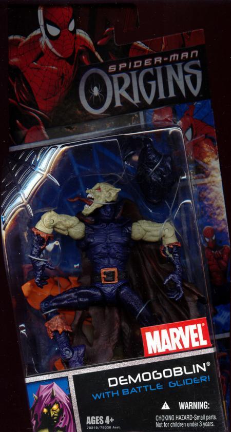 Demogoblin Origins Hood Off Battle Glider Spider-Man action figure