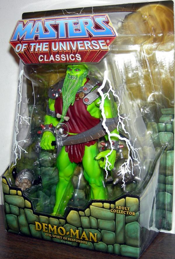 Demo-Man Classics Masters Universe He-Man action figure