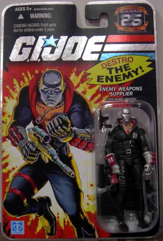 Enemy Weapons Supplier Code Name Destro Figure GI Joe
