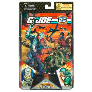 GI JOE 25th Anniversary Comic Pack- DESTRO CPL BREAKER
