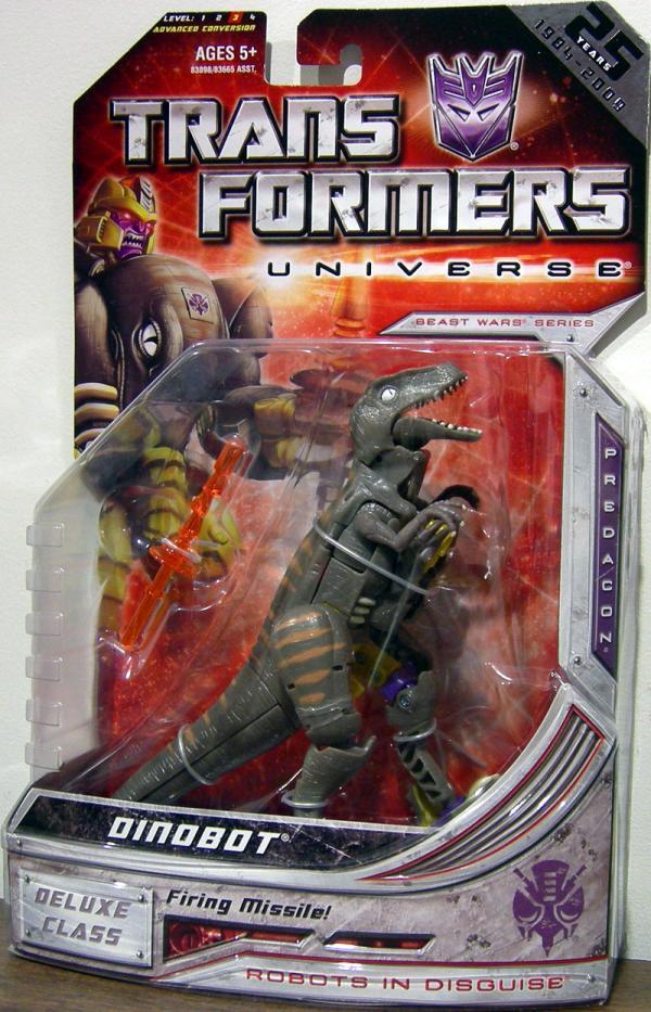 Dinobot Action Figure 25th Anniversary Transformers Universe