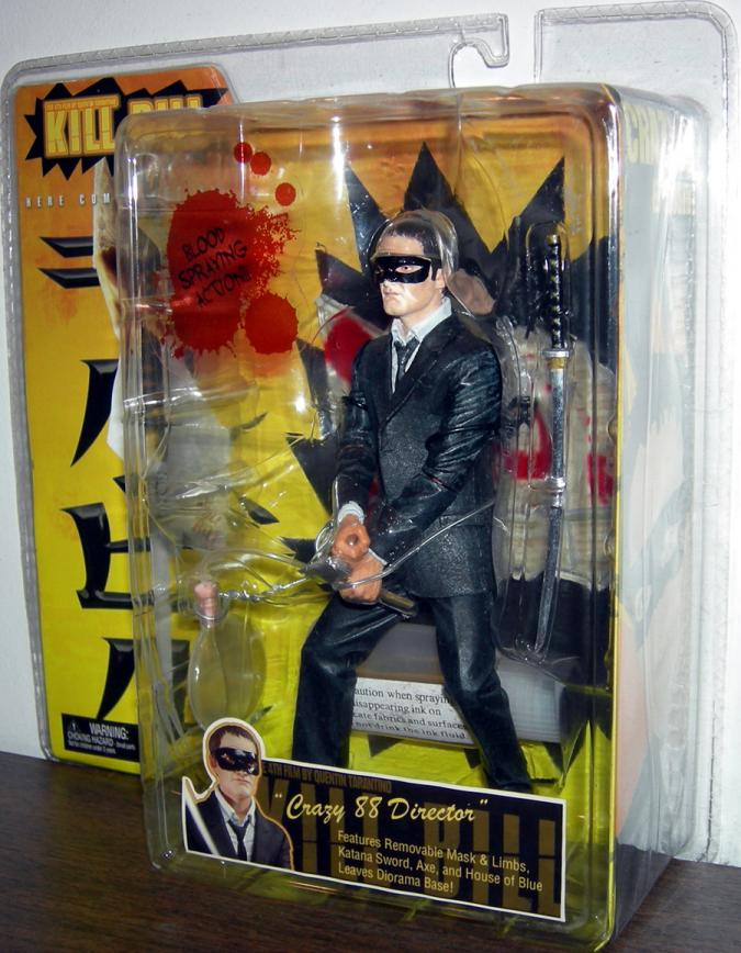 Crazy 88 Director Figure Kill Bill Quentin Tarantino Neca