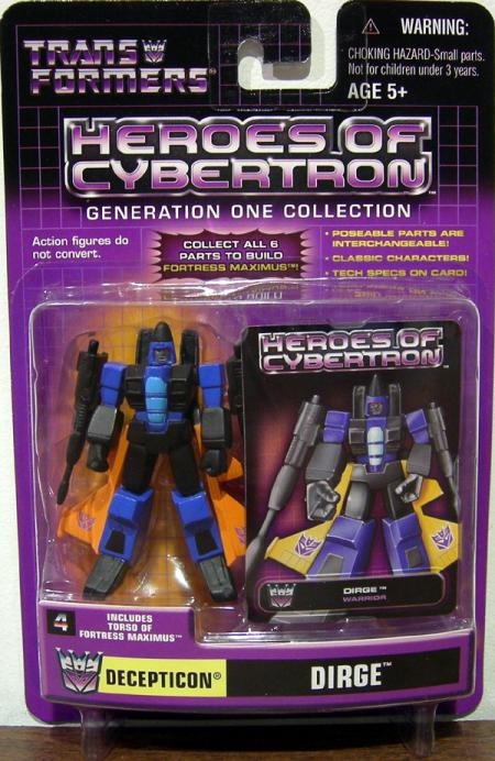 Dirge Heroes Cybertron
