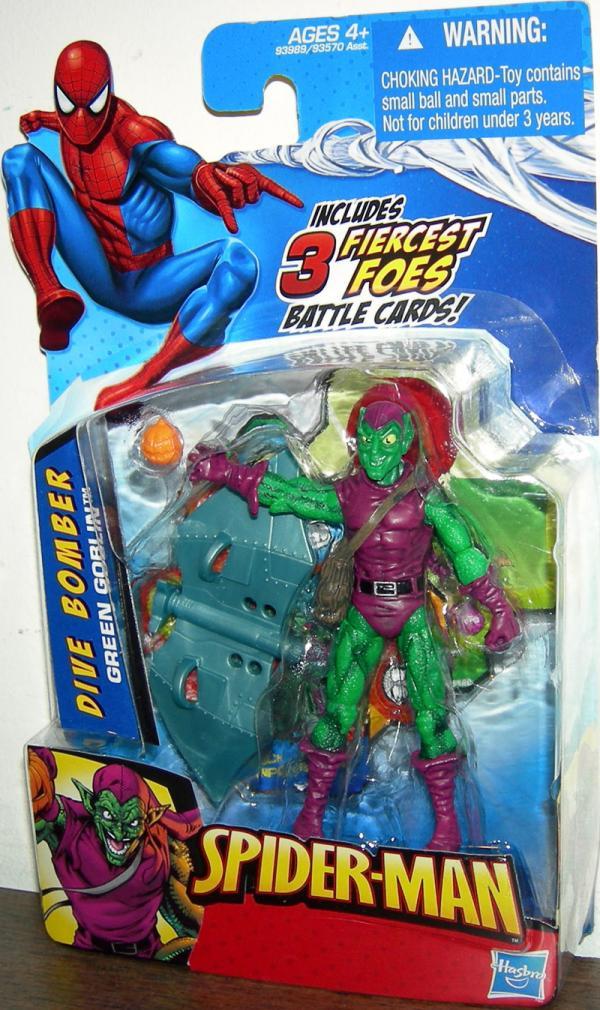 Dive Bomber Green Goblin Spider-Man action figure