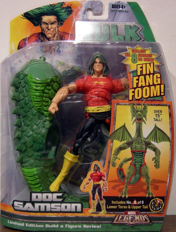 Doc Samson Marvel Legends Fin Fang Foom series