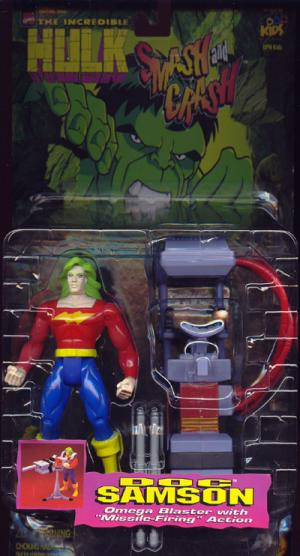 Doc Samson Action Figure Hulk Smash and Crash Toy Biz