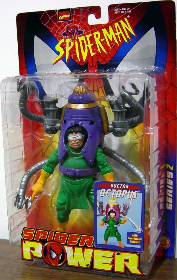 Doctor Octopus Spider Power