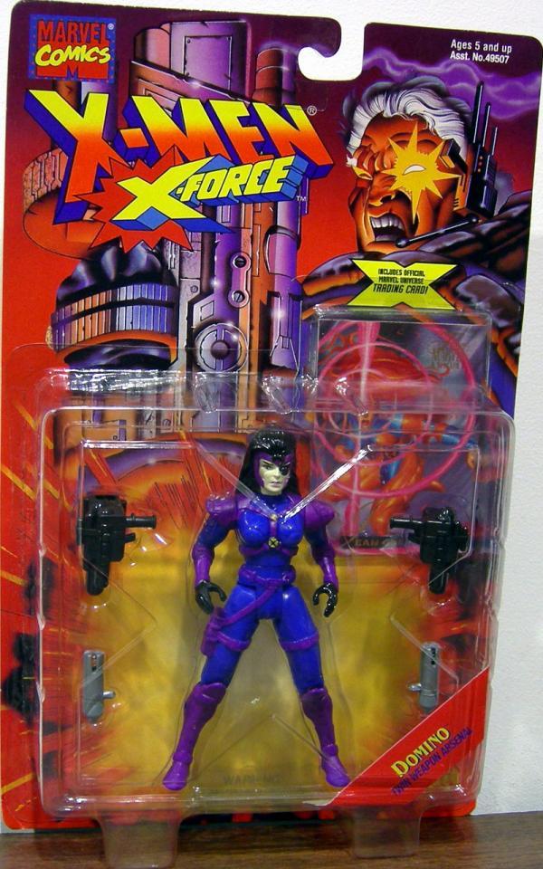 Domino Figure X-Men X-Force Toy Biz