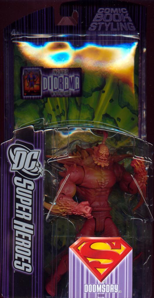 Doomsday DC SuperHeroes S3 repaint action figure