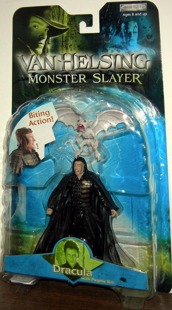 Dracula Van Helsing Pygmy Bat Biting Action figure