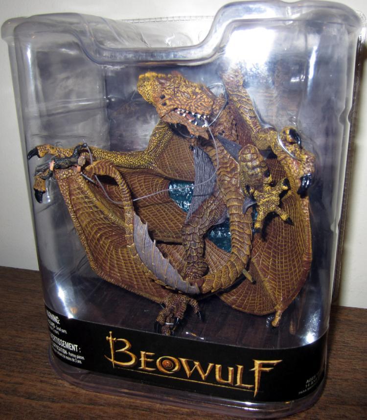 Beowulf Movie Dragon Figure McFarlane Toys