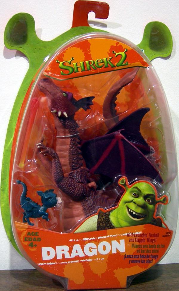 Dragon Shrek 2 Action Figure Hasbro