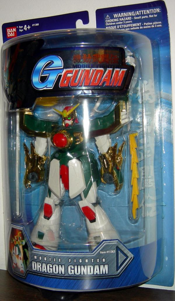 Dragon Gundam 7 1-2 inch