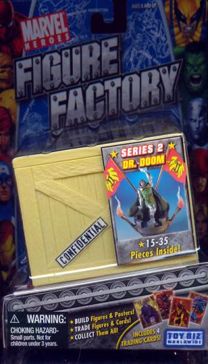 Dr Doom Figure Factory Marvel Series 2 Toy Biz