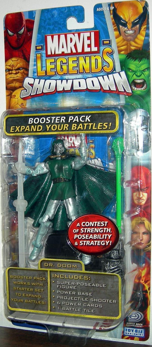 Dr Doom Figure Marvel Legends Showdown Toy Biz