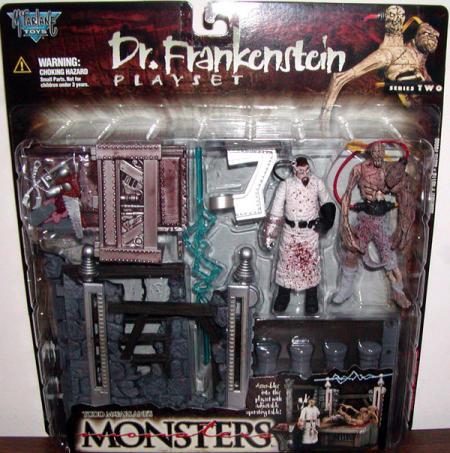 Dr Frankenstein playset series 2