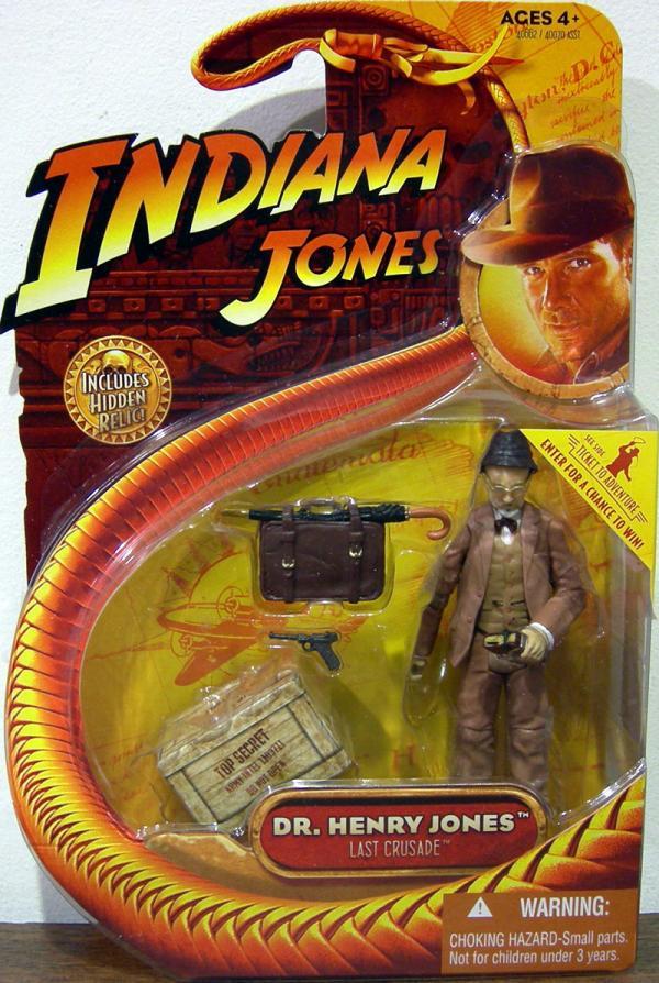 Dr Henry Jones Action Figure Indiana Jones Last Crusade