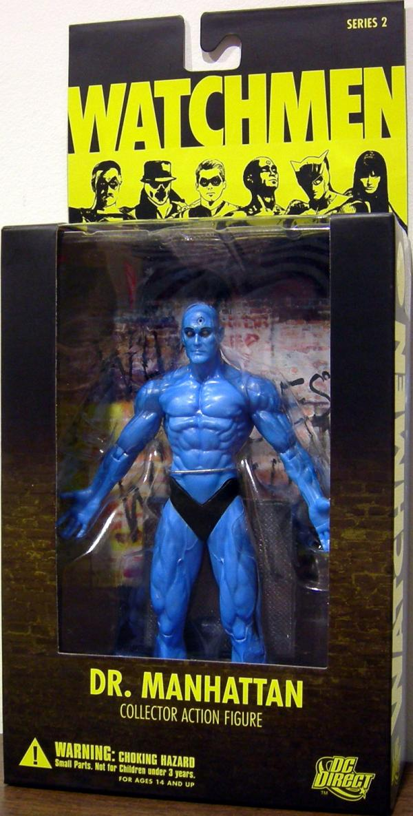 Dr Manhattan Watchmen Collector action figure
