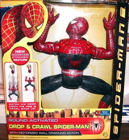 12 inch Drop  Crawl Spider-Man 2, movie