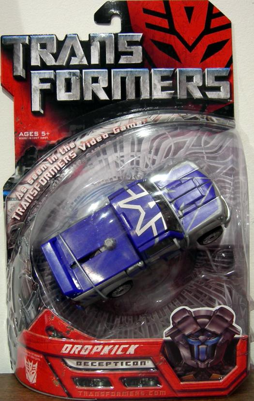 Dropkick Action Figure Transformers Decepticon Hasbro