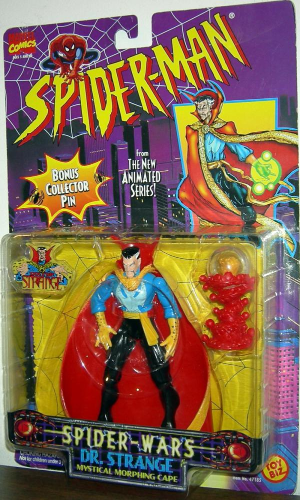 Dr Strange Figure Spider-Wars Spider-Man Toy Biz