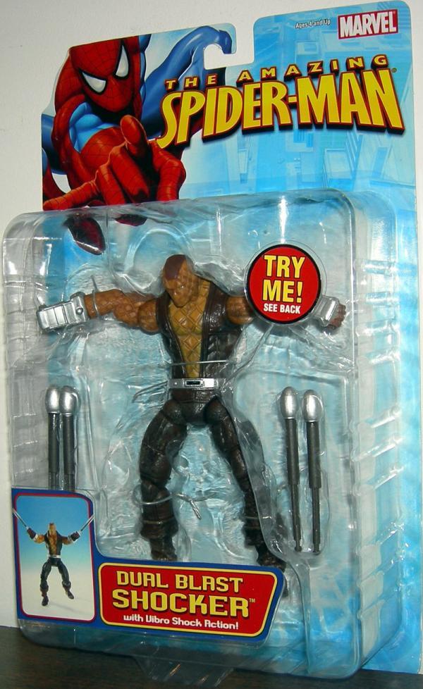 Dual Blast Shocker Spider-Man action figure