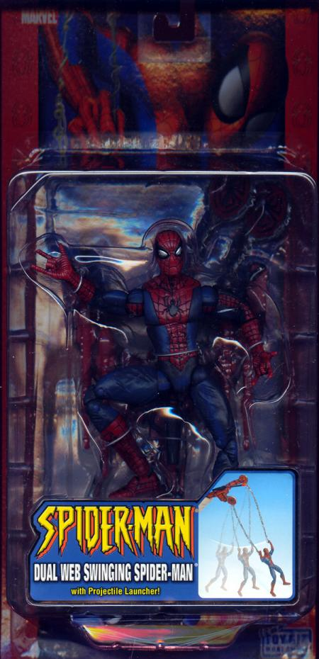 Dual Web Swinging Spider-Man Classic action figure