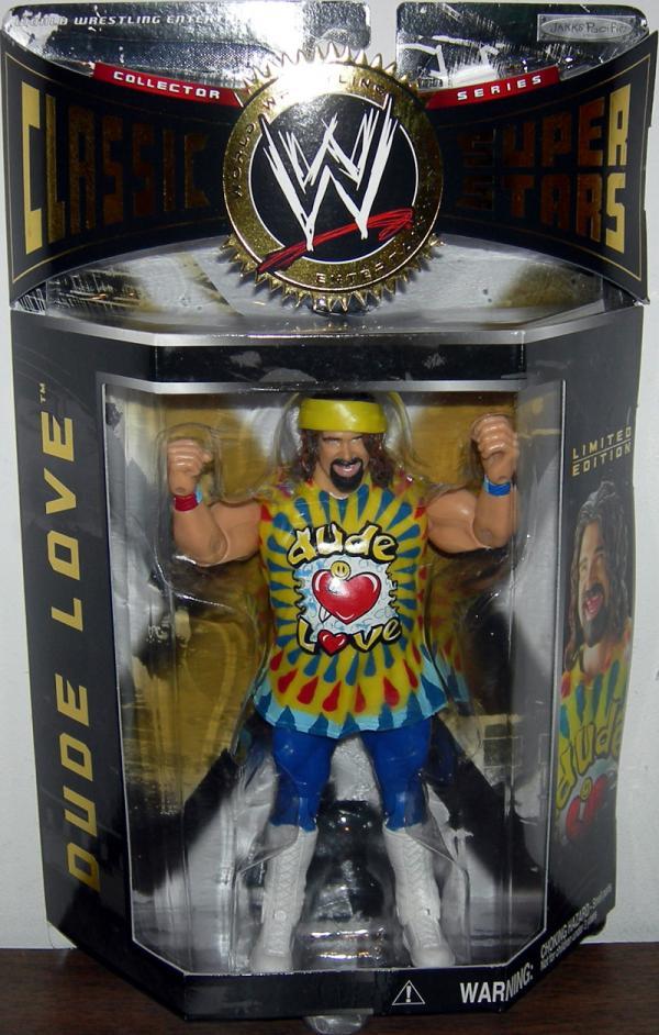 Dude Love Figure WWE Classic Super Stars Series 2