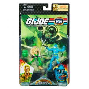 GI JOE 25th Anniversary Comic Pack - DUKE COBRA COMMANDER