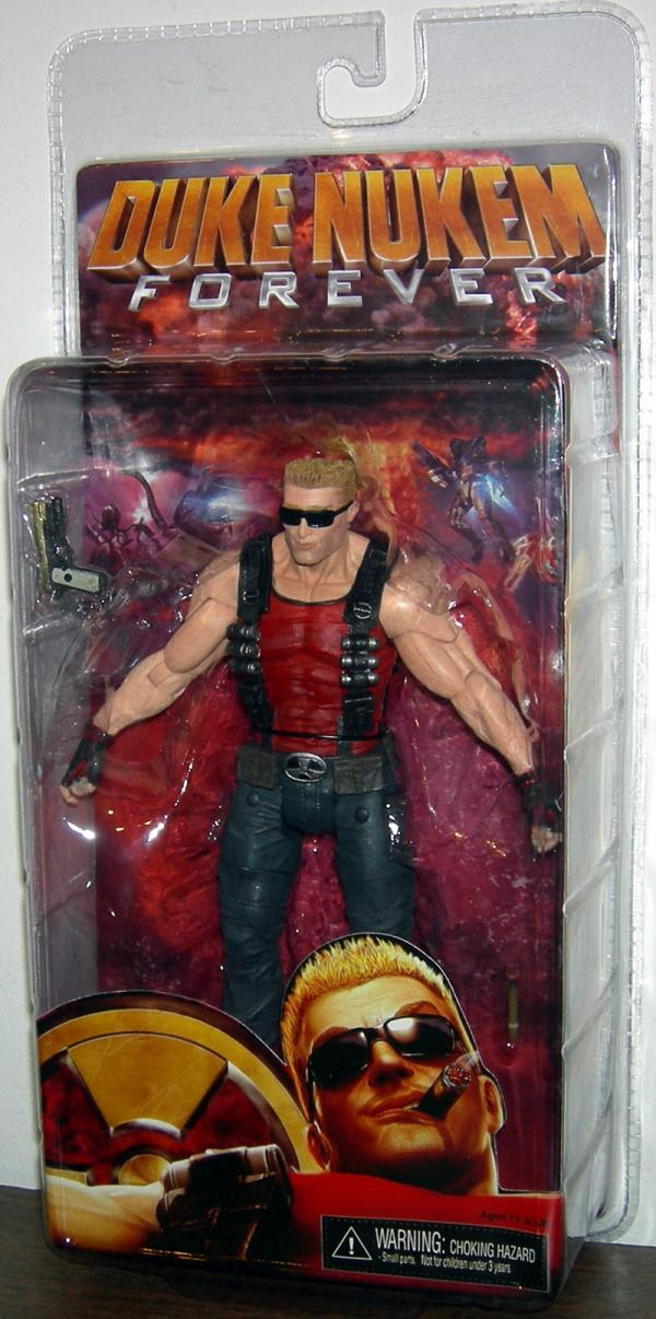Duke Nukem Forever Video Game action figure