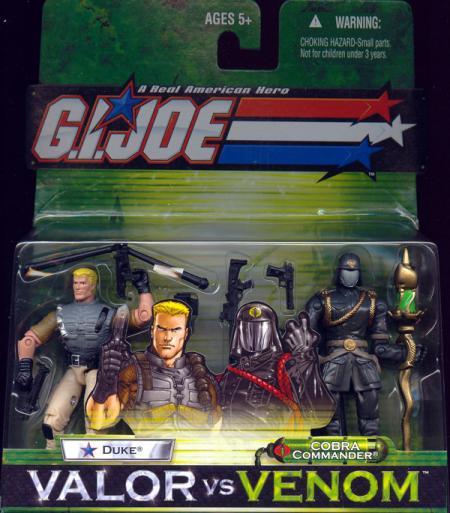 Duke vs Cobra Commander Valor vs Venom