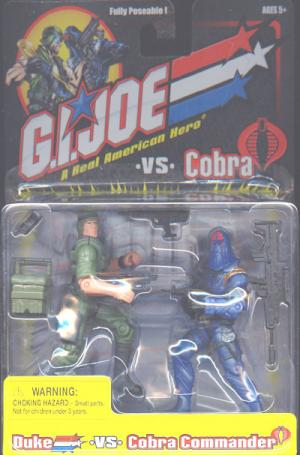 Duke vs Cobra Commander